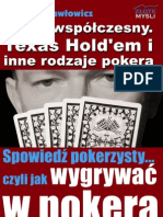 Poker Wspolczesny Texas Hold Em i Inne Odmiany Pokera