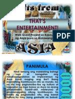Kontribusyon Ng Asya Sa Mundo