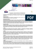 Farmacêutico Virtual - A pesquisa e o desenvolvimento de medicamentos