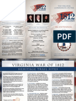 War of 1812 Brochure