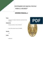 Informe Final I