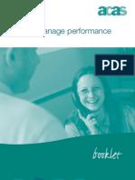 Managing Performance ACAS