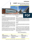 Solarwall Case Study - CANMET Materials Technology Laboratory - solar air heating system