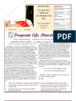 Calvary Chapel Reno-Sparks Women's Newsletter July-August 2011