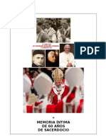 08. Memoria íntima de 60 años de sacerdocio.