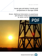 54510841 Greenhouse Gas Emission Trends and Projections in Europe 2008 Tracking Progress Towards Kyoto Targets Annexes