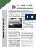 El Mirado - Boletín 1 (Junio 2005)