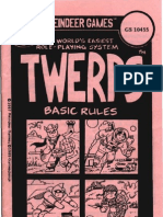 Twerps - Basic Rules (Gamescience - GS 10455)