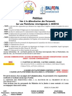 Petition delocalisation a Amiens