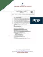 Selectividad Examination June 2011