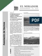 El Mirador - Boletín 3 (Enero 2006)