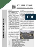 El Mirador - Boletín 5 (Mayo 2007)