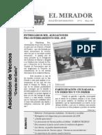 El Mirador - Boletín 6 (Marzo 2008)