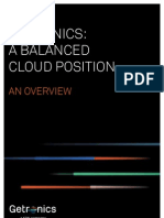 Getronics a Balanced Cloud Position Whitepaper