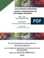 Eia Em Ecosistemas y Categorizacion de Tegnologias de Gestion