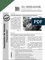 El Mirador - Boletín 7 (Diciembre 2008)