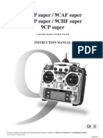 Futaba 9chp TX Manual