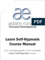 Secrets of Self- Hypnosis Course Manual