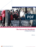 The Saxonvale Manifesto