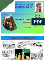 VIGILANCIA CIUDADANA