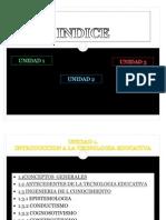 Programa o Temario de Tecnologia Educativa