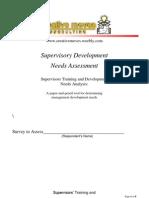 Supervisory Tna