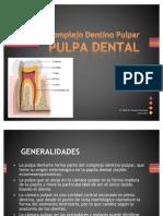 PULPA - Complejo Dentino Pulpar