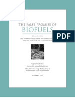 The False Promise of Biofuels