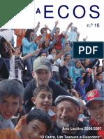 Revista Ecos 2006-2007 - Capa