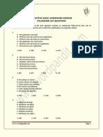 Deductive Logic_Homework Exercise