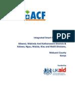 Integrated Smart Survey Report - Kenya, Makueni - April 2011