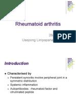 Rheumatoid Arthritis Topic