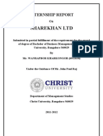 Sharekhan.internship Report