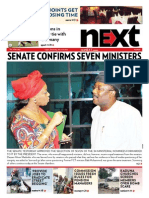 Senate confirms Seven Ministers