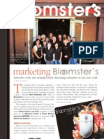 Bloomsters Voted Best in Marketing!