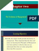 Principles of Management Slides - Chapter 2