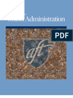 Guidebook Essentials for Union Administration