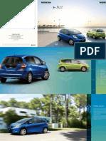 Honda Jazz Hybrid Brochure 20110225