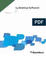 BlackBerry Desktop Software für Mac v2.1 Benutzerhandbuch