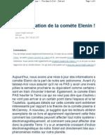 Fr.sott.Net Articles Show 2901 Actual is at Ion de La Comet