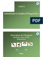Aula8 - Introducao a Analise Filogentetica