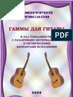 Дмитрий Теслов. Гаммы для гитары. 2009