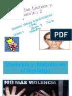 Violencia y Maltrato en El Noviazgo