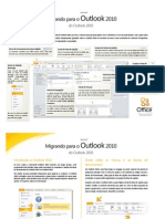 Migrando Para o Outlook 2010