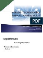 Presentación de la Materia Nuevas Tecnologías