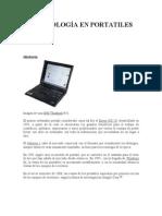 Tecnologías en Portátiles (Laptops)