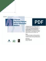 II Fórum Nacional FENAM sobre Educação Médica