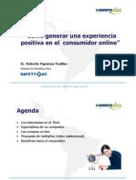 Cómo generar una experiencia positiva en consumidor online