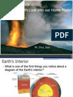 Earth's Interior A