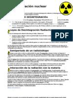 Radiación nuclear